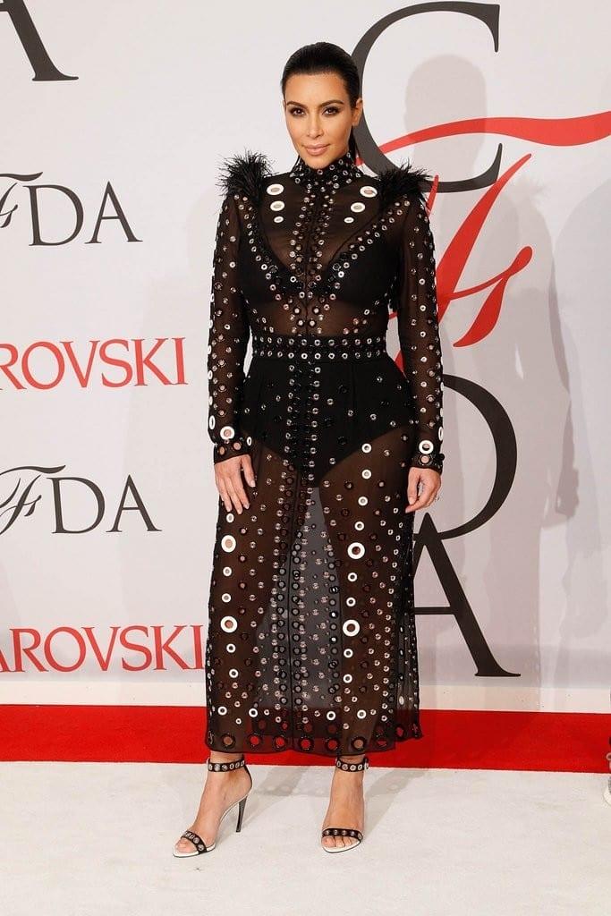 Kim Kardashian Proenza Schouler, cfda2015, best dressed