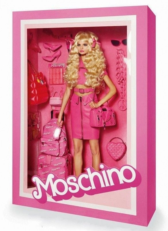 barbie girl, moschino, vogue paris, theladycracy.it, fashion blogger italia,