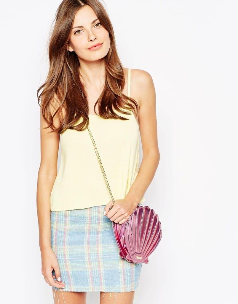 cosa comprare su asos, fashion blog italia, theladycracy.it, elisa bellino, tracolla conchiglia rosa,  elisa bellino, accessori asos