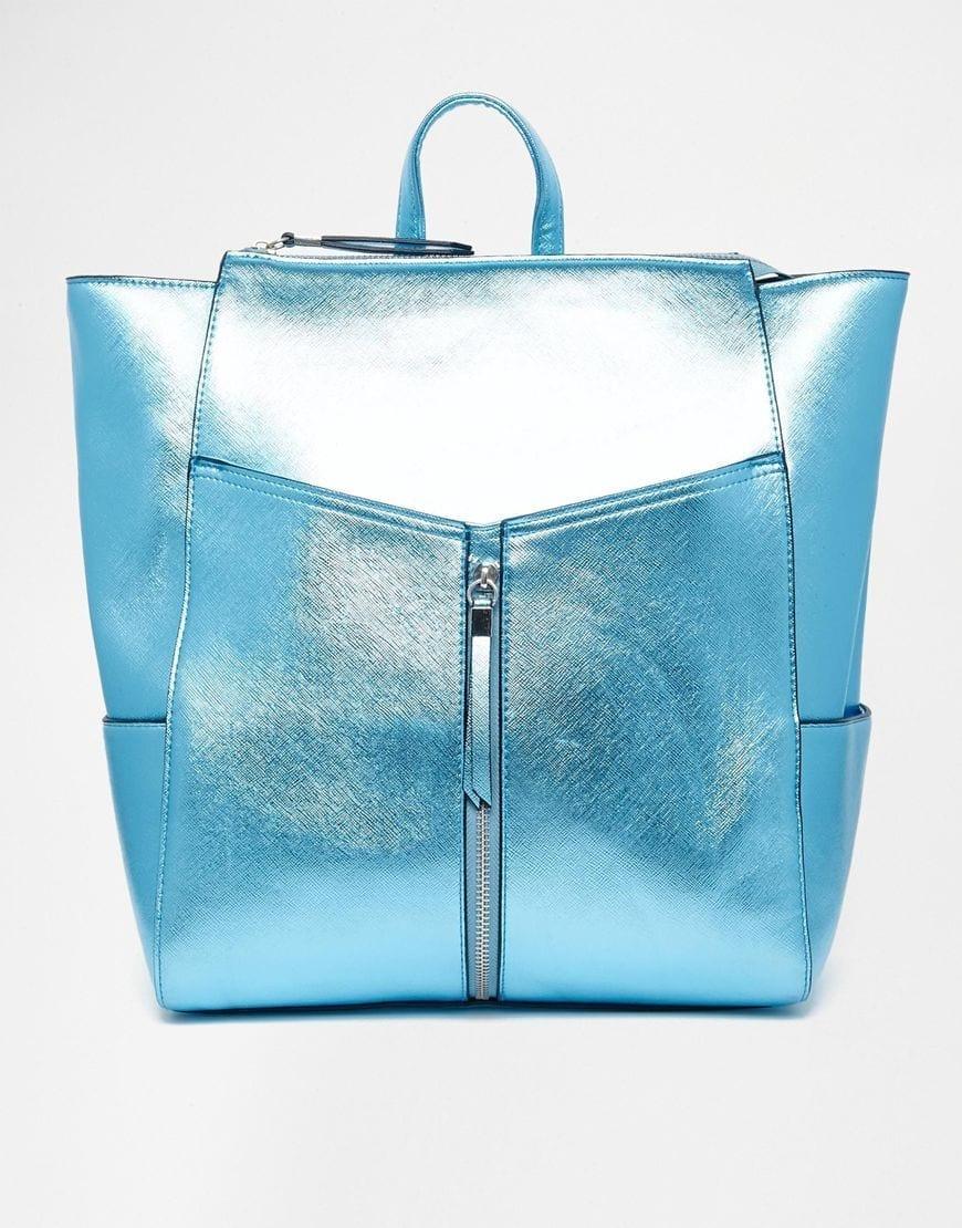 cosa comprare su asos, fashion blog italia, theladycracy.it, elisa bellino, zainetto metallic blue, accessori asos