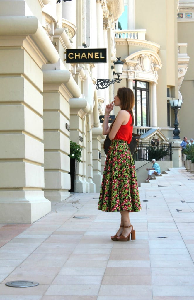 theladycracy.it, fashion editorial chanel fashion outfit fashion blog italy montecarlo outfit summer 2015, fashion blogger italia, fashion blog italia, best fashion blogger italy,Gonne anni 50 a ruota