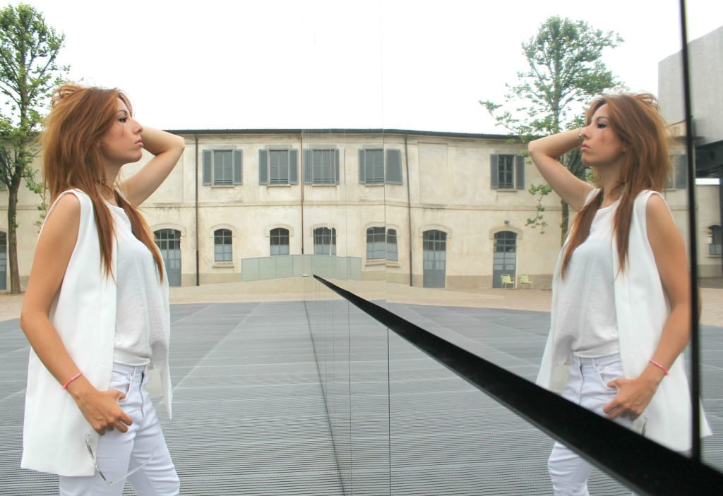 total white look, fashion outfit, theladycracy.it. best fashion blogger italy, elisa bellino
