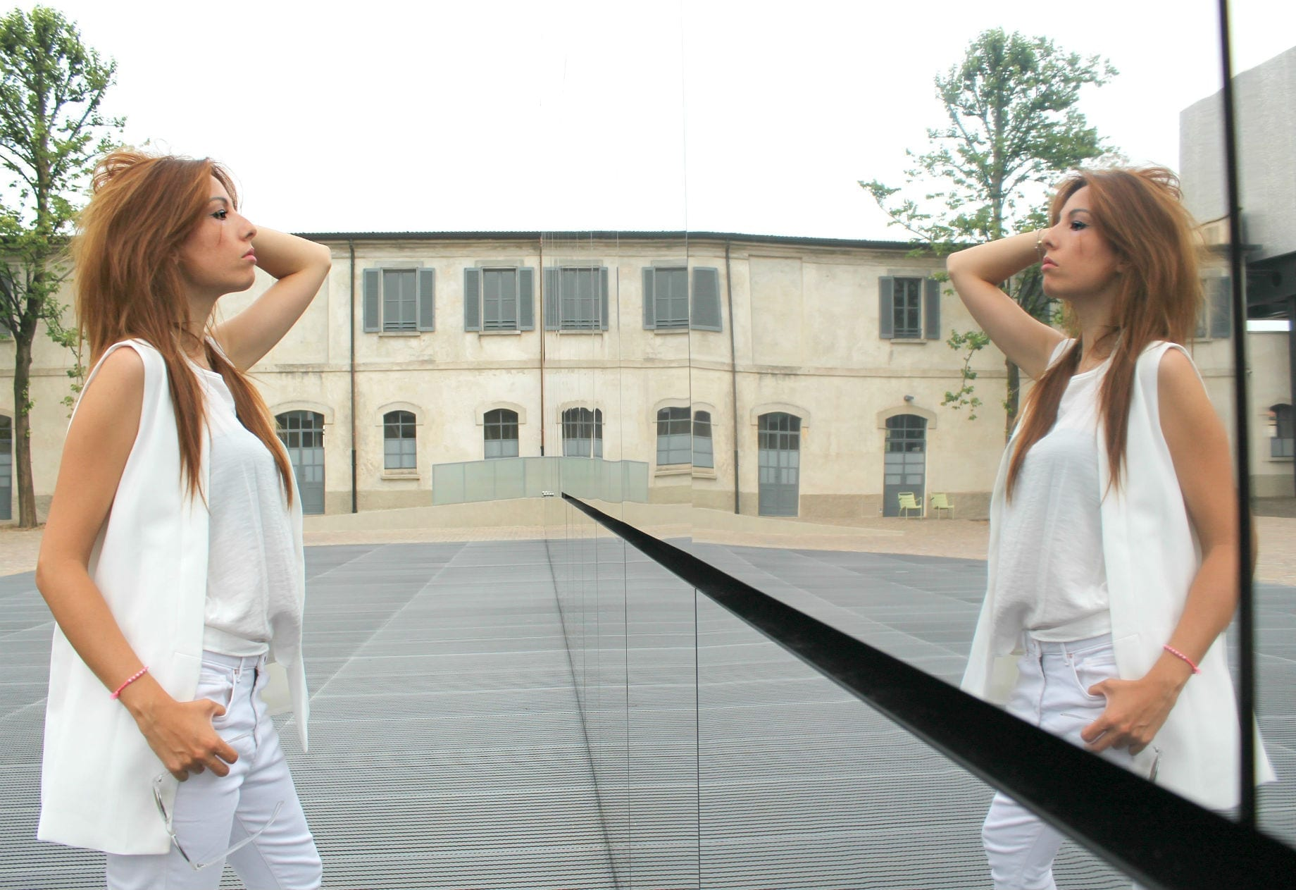 total white look fashion outfit, fashion editorial, elisa bellino, theladycracy.it, best fashion blog italia