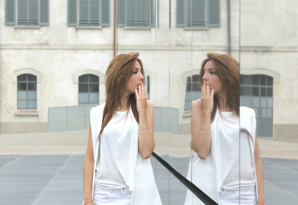 total white look,  ootd, theladycracy.it. best fashion blogger italy, elisa bellino