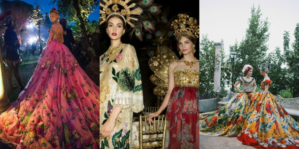 haute couture fall winter 2015 -16, dolcegabbana alta moda 2015-16