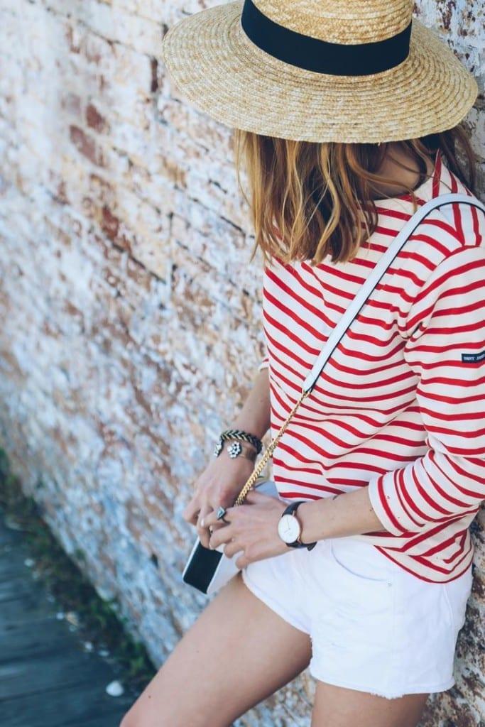 come sopravvivere al caldo, best fashion outfit of summe 2015, theladycracy.it, top fashion blogger italia, stile marinara, come si indossano le righe