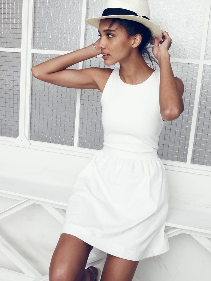 come sopravvivere al caldo, theladycracy.it, fashion blogger, total white look