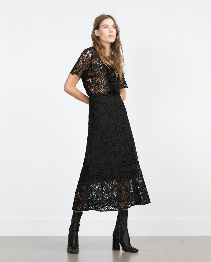 cosa mi metto domani per andare a lavoro, theladycracy.it, co-ord sets zara pizzo nero, elisa bellino, top fashion blogger italia