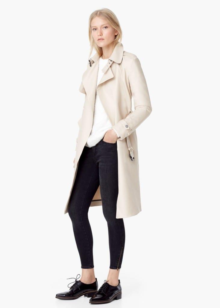 cosa mi metto domani per andare a lavoro, theladycracy.it, trench mango fall 2015, top fashion blog italia,