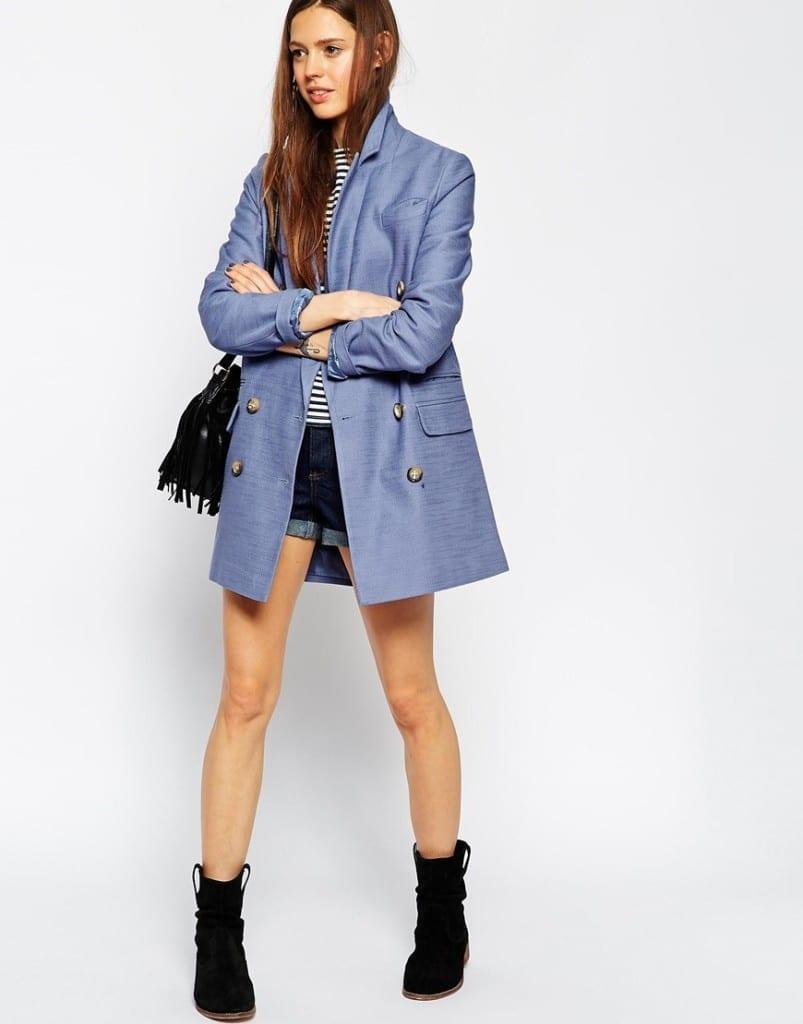 asos abbigliamento, giacca maschile donna asos autunno 2015, theladycracy.it