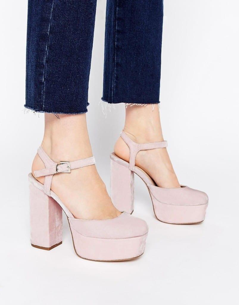 asos abbigliamento, theladycracy.it, elisa bellino, scarpe rosa asos style anni settanta