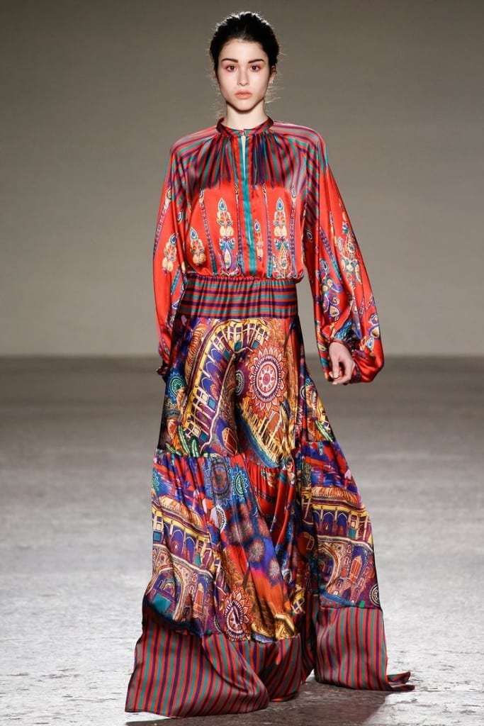 come vestirsi alla moda anni 70, theladycracy.it, look anni 70, stella jean fall 2015, vestirsi seventies