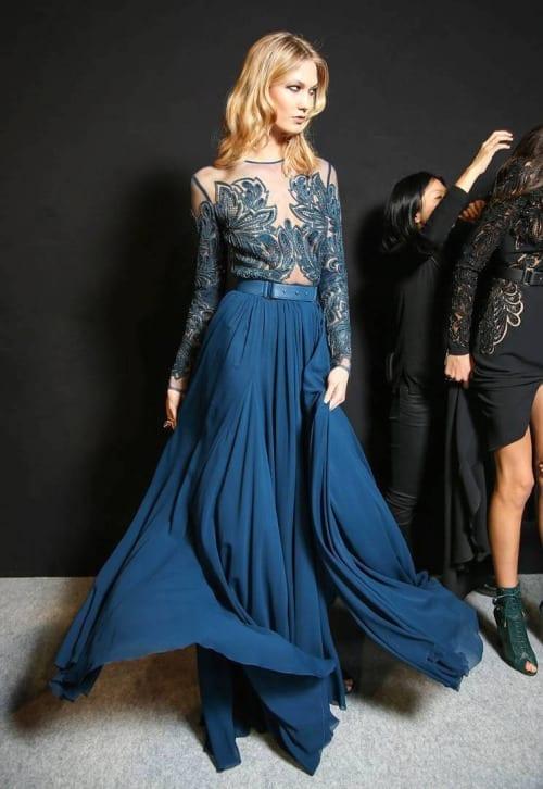 moda autunno 2015, theladycracy.it, elisa bellino, blue trend fall 2015, elie saab fall 2015,fashion blogger italiane, fashion blog italia