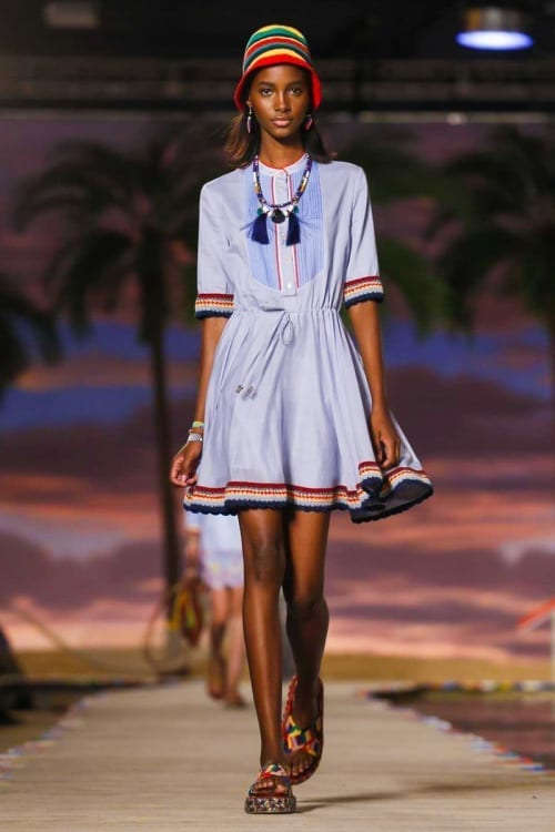 Tommy Hilfiger Fashion Show, Ready to Wear Collection Spring Summer 2016 in New York,Oscar de la Renta Fashion Show Ready to Wear Collection Spring Summer 2016 in New York,new york fashion week 2016, elisa bellino, fashion blog italia,