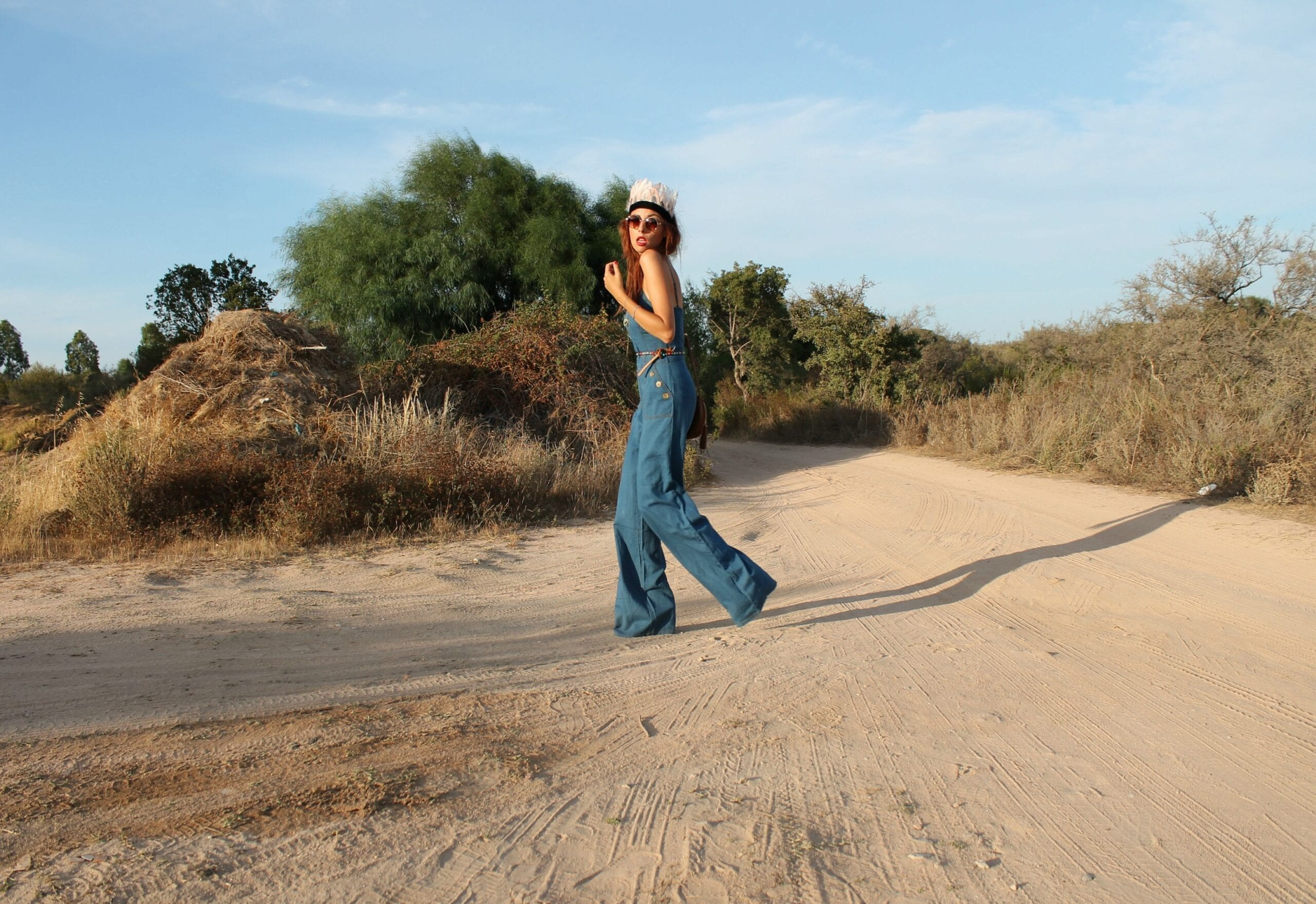 tuta jeans, sqaw, come indossare la tuta, flare pants, ootd, fashion blog italiane, theladycracy.it, elisa bellino, seventies outfit trend, sqaw outfit