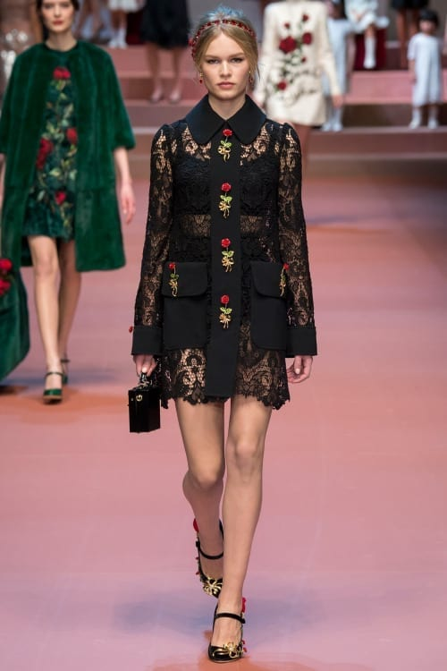 abiti eleganti, fashion blog, theladycracy.it, elisa bellino, dolce gabbana fll winter 2015,fashion blogger italiane,