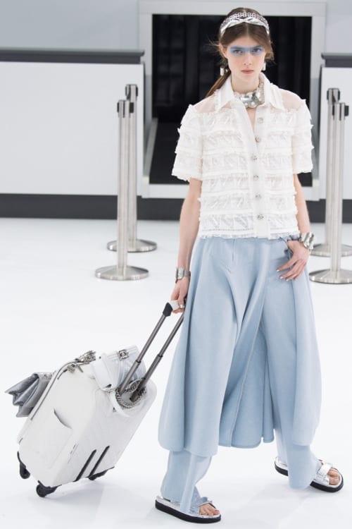 chanel sfilata 2016, theladycracy.it, elisa bellino, fashion blog italia, paris fashion week sfilate 2015, layering chanel