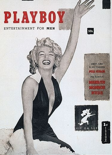 conigliette playboy, marilyn monroe playboy 1953, primo numero playboy 1953, fashion blog italia,