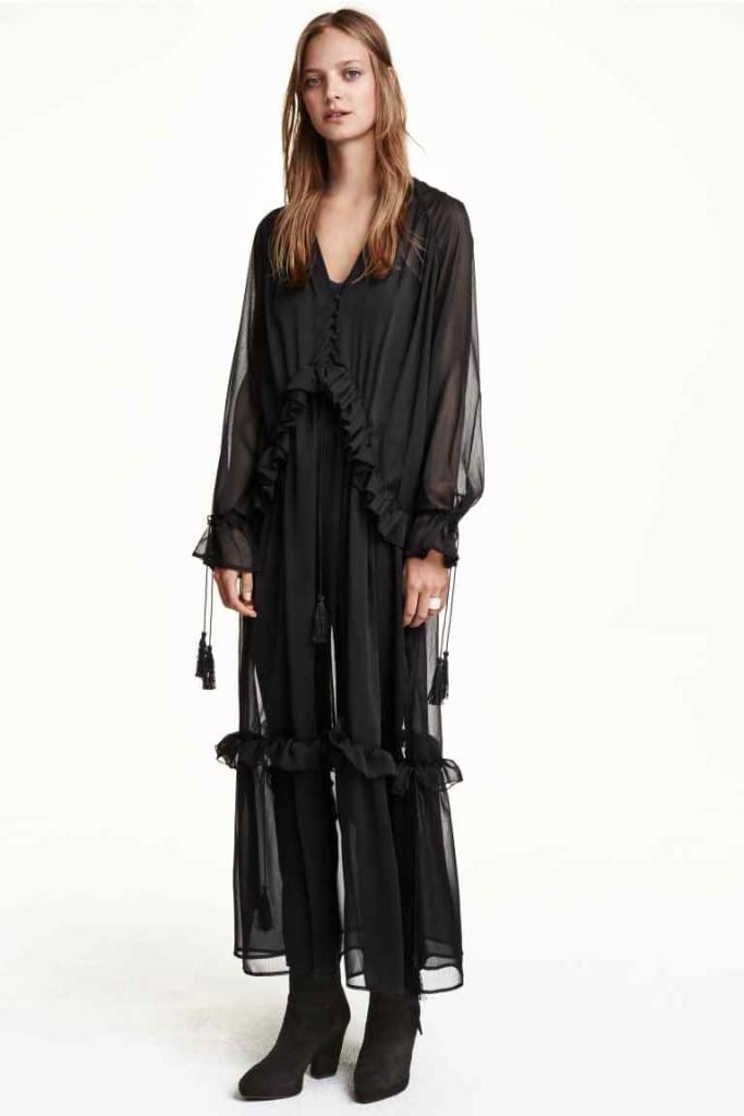hm vestito chiffon, come vestirsi ad halloween,theladycracy.it,elisa bellino, fashion blogger italiane,
