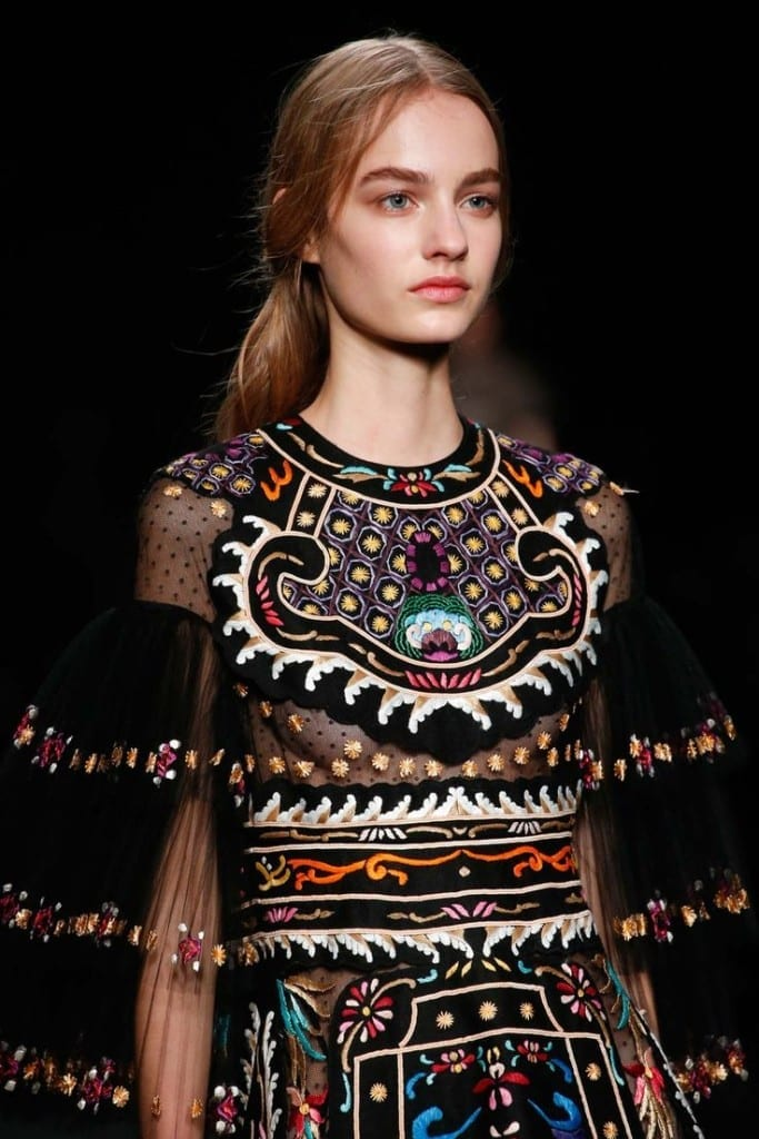 moda autunno inverno 2016; theladycracy.it, elisa bellino, fashion blog italia, cosa significa folk, valentino fw 2015, fashion blogger italiane