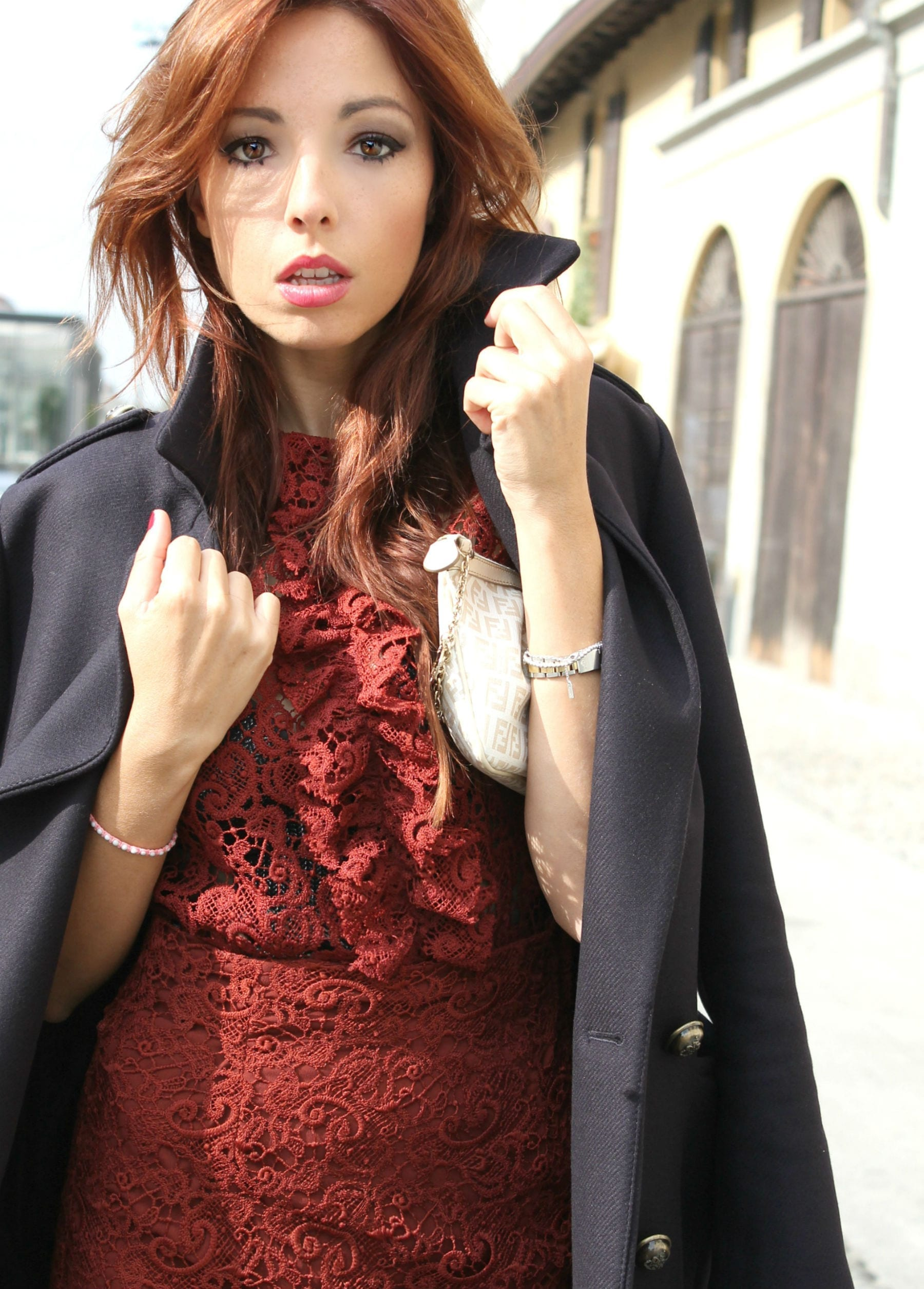 moda e social network, theladycracy.it, elisa bellino, fashion blog italia, fashion blogger italiane, zara coat, marsala look, total look zara