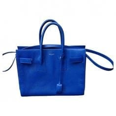 saint laurent bag vintage blue, borse di lusso usate, theladycracy.it, vestiaire collective,