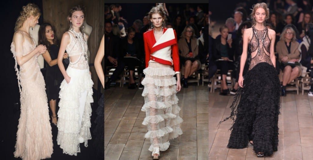 sfilate parigi ottobre 2015, alexander mcqueen ss 2016, sarah burton ss 2016, elisa bellino, theladycracy.it, fashion blog italia, pfw ss 2016, pfw 2016, tendenze estate 2016