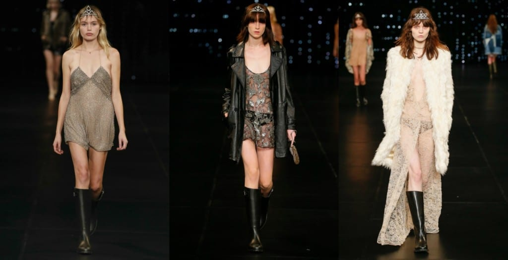 sfilate parigi ottobre 2015, saint laurent ss 2016, theladycracy.it, elisa bellino, fashion blogger italiane, pfw 2016, tendenze estate 2016