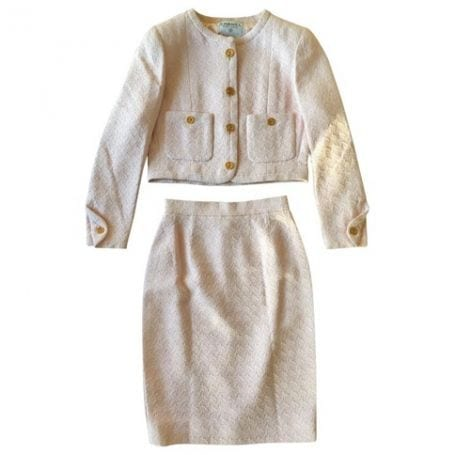 tailleur chanel vintage, borse di lusso usate, theladycracy.it, vestiaire collective,