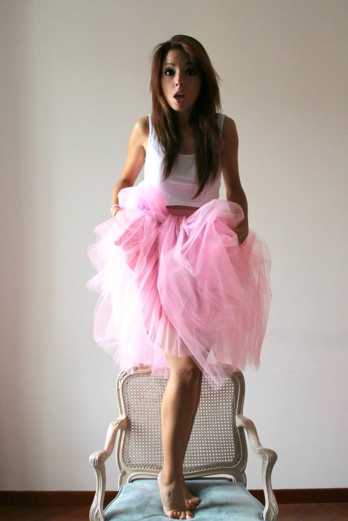 volersi bene, silk epil 9 braun, tulle gonna rosa, pink tulle skirt, swith up your style, theladycracy.it, come si indossa la gonna in tulle, fashion blogger italiane