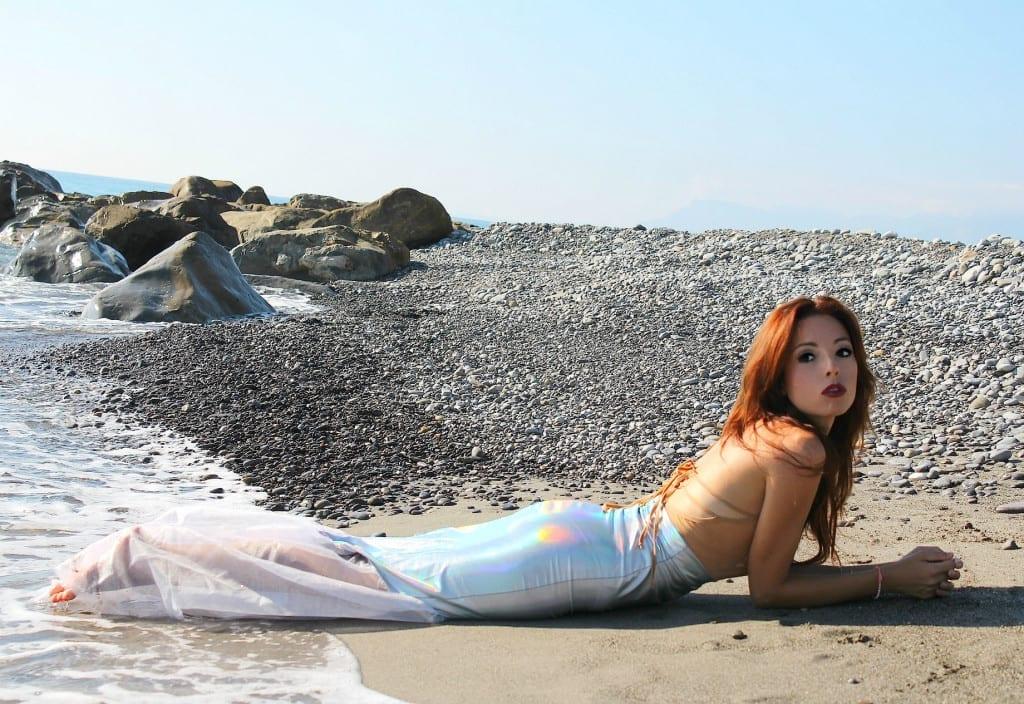 ansia sociale, vestito sirena, mermaid outfit, elisa bellino, fashion blog italia, c