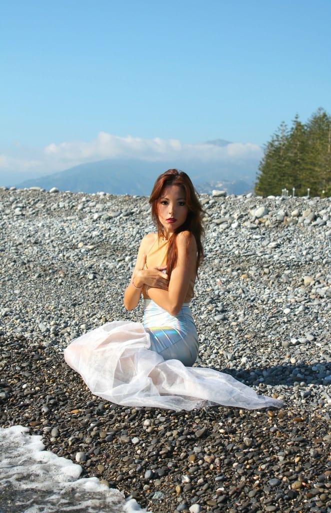 ansia sociale, vestito sirena, mermaid outfit, elisa bellino, fashion blog italia, notify