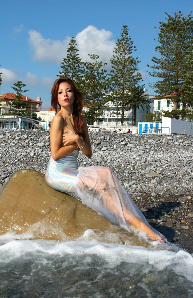 ansia sociale, vestito sirena, mermaid outfit, elisa bellino, fashion blog italia, outfit fashion