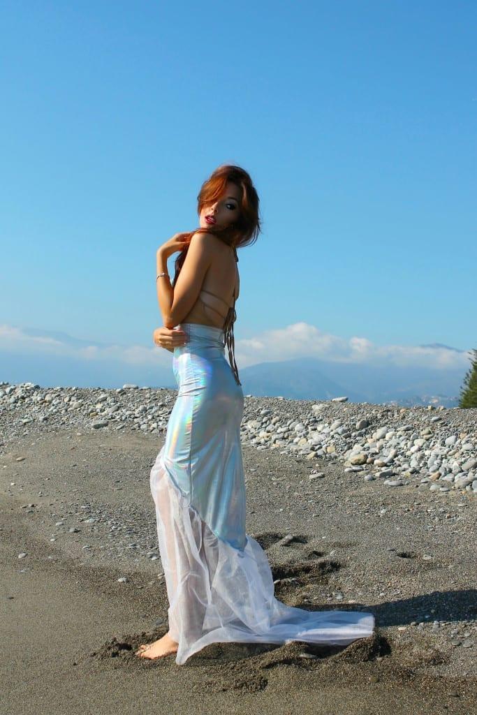 ansia sociale, vestito sirena, mermaid outfit, elisa bellino, fashion blog italia, w