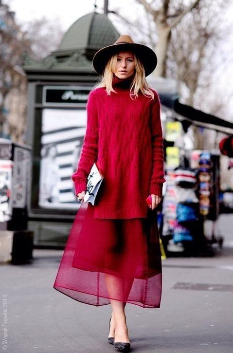 come vestirsi alla moda quando fa molto freddo, come vestirsi bene quando fa freddo, theladycracy.it, elisa bellino, fashion blog italia, come si indossa il rosso, mix texture look