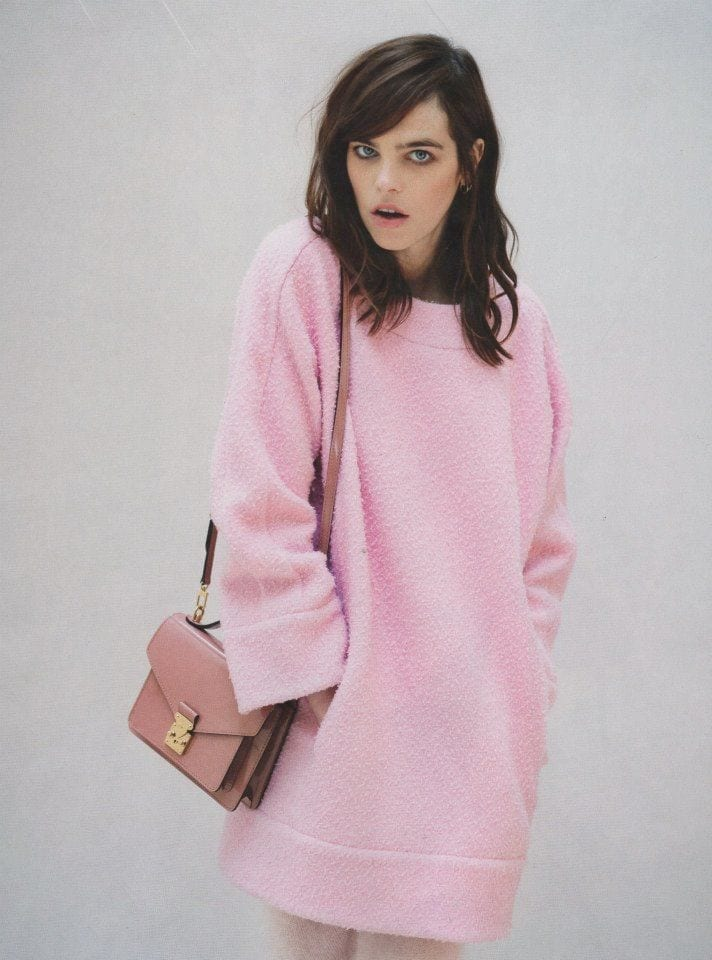pranzo di natale 2015, theladycracy.it, elisa bellino, fashion blog italia, come vestirsi a natale 2015, pink knitwear 2015