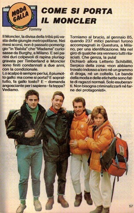 5 buoni motivi pern non comprare un piumino, theladycracy.it, elisa bellino, fashion blog italia, fashion blogger italiane, come si porta il moncler anni 80, paninari, fashion blogger italiane famose