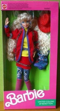 barbie benetton anni 90, barbie nuove, theladycracy.it, elisa bellino, le nuove barbie, theladycracy.it, Barbie The Doll Evolves, theladycracy.it, elisa bellino, fashion blogger italiane, fashion blog italy, barbie curvy, barbie grassa, barbie nera, barbie bassa