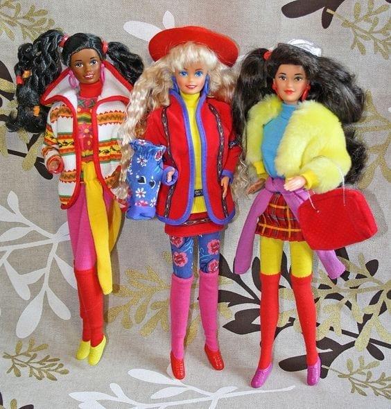 barbie nuove, theladycracy.it, elisa bellino, le nuove barbie, theladycracy.it, barbie cult infanzia, Barbie The Doll Evolves, theladycracy.it, elisa bellino, fashion blogger italiane, fashion blog italy, barbie curvy, barbie grassa, barbie nera, barbie bassa