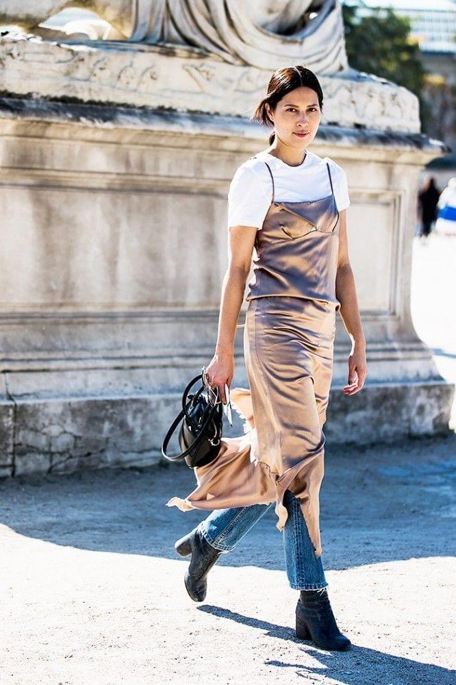 sottoveste seta, abito da sera consigli, cosa indossare per una serata importante, theladycracy.it, elisa bellino, come si porta la sottoveste, fashion blog italia, fashion blogger italiane famose