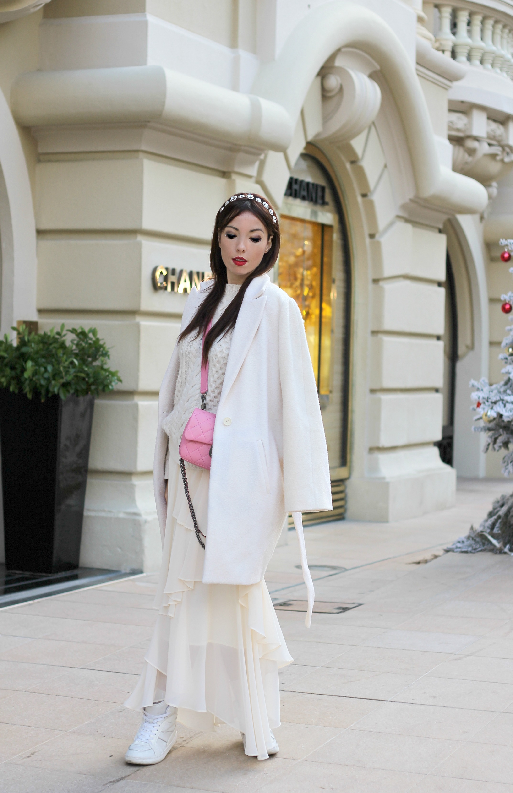 theladycracy.it, elisa bellino, fashion blogger italiane, fashion blogger winter outfit,prospettive lavoro futuro, total white look, zarina outfit, chanel rosa borsa,prospettive lavoro futuro, total white look, zarina outfit, chanel rosa borsa,