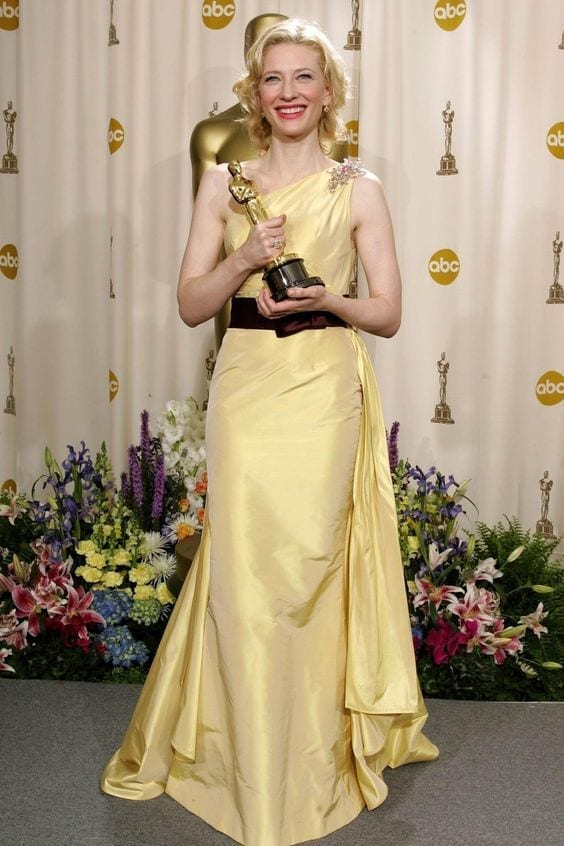 Cate Blanchett collected the 2005 , valentino