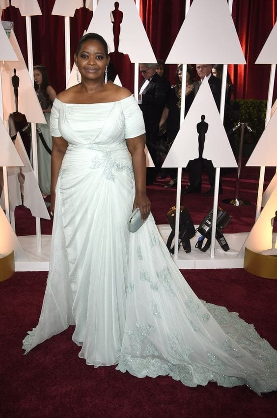 Octavia Spencer Oscar look