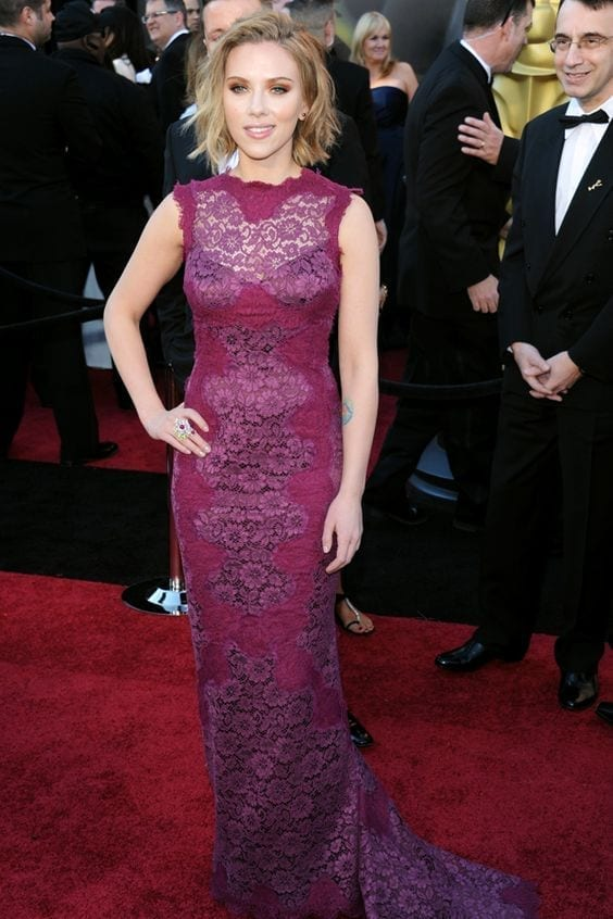 Scarlett Johansson, 2011 Dolce & Gabbana