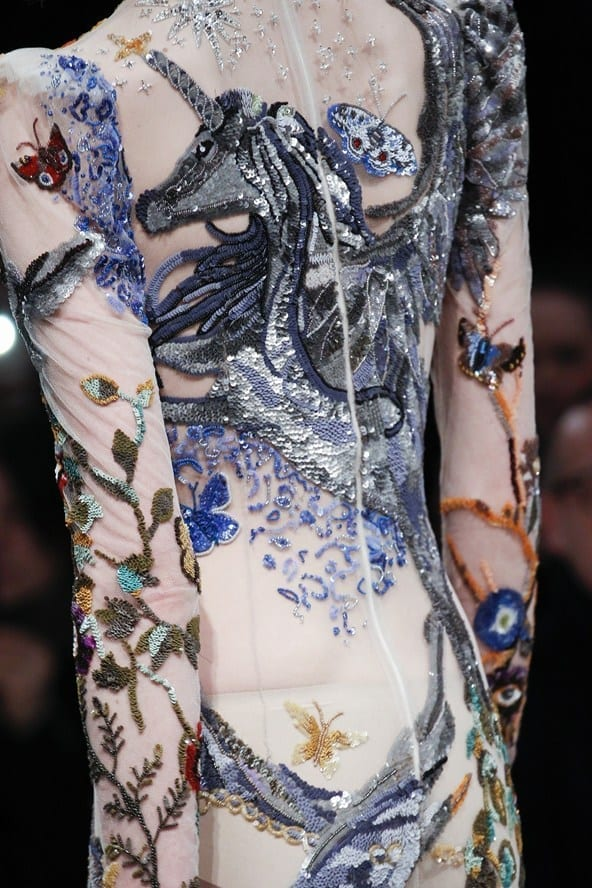 tendenze autunno inverno 2016, alexander mcqueen fall 2016, unicorn fashion