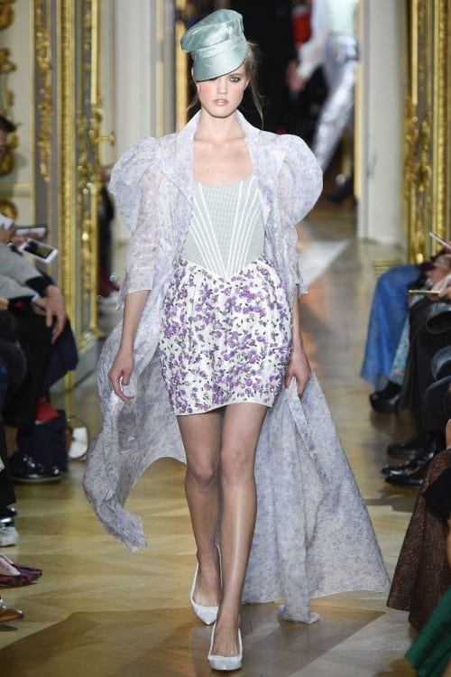 ulyana sergeenko couture, theladycracy.it, elisa bellino, fashion blog italia, fashion blogger italiane, chi è ulyana sergeenko, paris haute couture spring summer 2016, tendenze moda primavera estate 2016