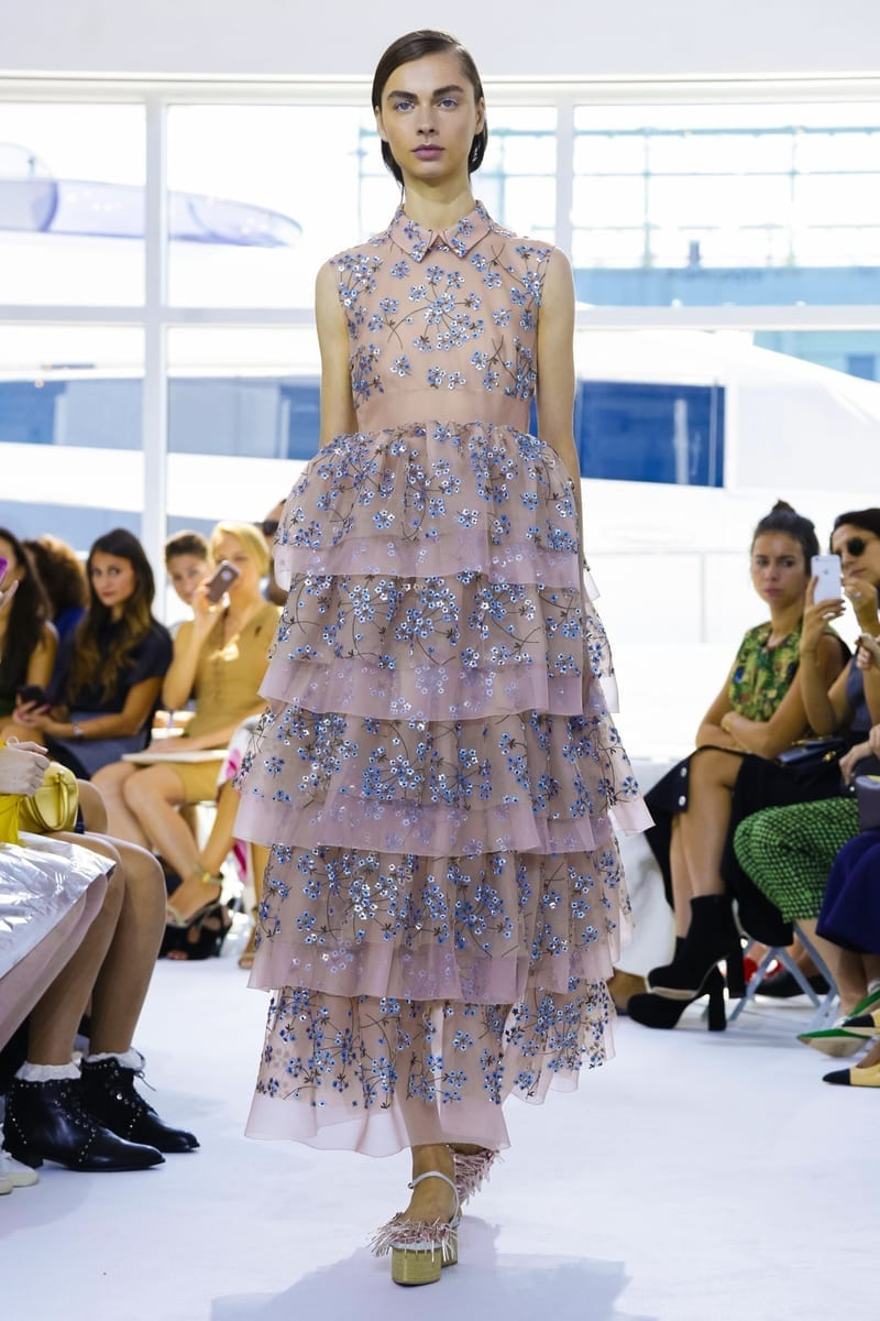 Delpozo Fashion Show, Ready to Wear Collection Spring Summer 2016 in New York, cosa andrà di moda estate 2016, valentino ss 2016 rtw, theladycracy.it