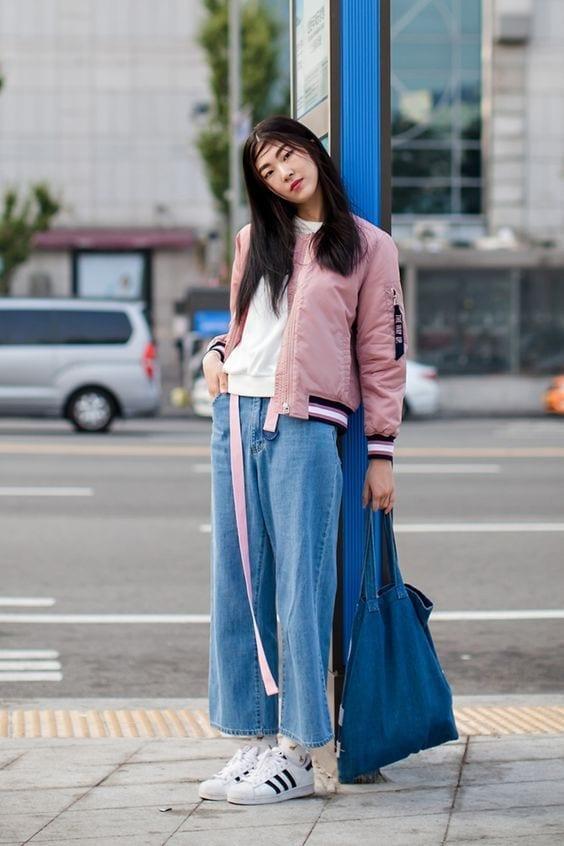 quale jeans scegliere, quale jeans scegliere, bomber rosa, theladycracy.it, elisa bellino, fashion blog, fashion blogger italiane, fashion blogger italia, che jeans vanno di moda, jeans dritti, mom jeans come portarli, tendenze moda primavera estate 2016, tendenze primavera 2016,
