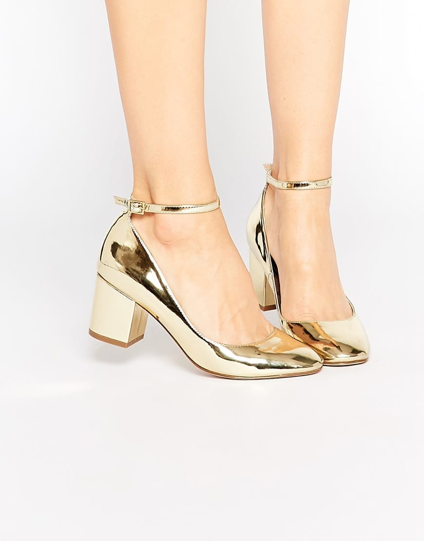 scarpe tacco basso asos gold 2016, theladycracy.it, elisa bellino, fashion blog, fashion blogger italiane, fashion blog italia, fashion blogger, tendenze moda primavera estate 2016, tendenze primavera 2016