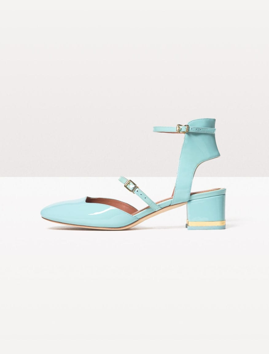 scarpe tacco basso vernice blu tiffany max&co ss 2016, theladycracy.it, elisa bellino, fashion blog, fashion blogger italiane, fashion blog italia, fashion blogger, tendenze moda primavera estate 2016, tendenze primavera 2016